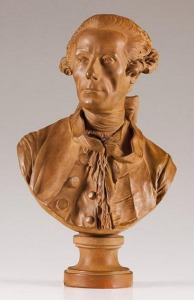 J.J. Caffieri (1725-1792). Sculpture of Noël Hallé (1711-1781)