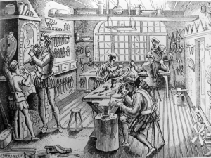 goldsmith workshop 1576