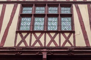 Rouen, 15th century house. © Elisa Dolléans