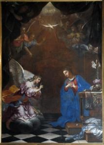 Daniel Hallé. 1648. L'annonciation. Notre Dame de Bercy, Paris